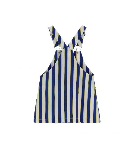 COTTON DUNGAREES WITH ALL OVER PRINT