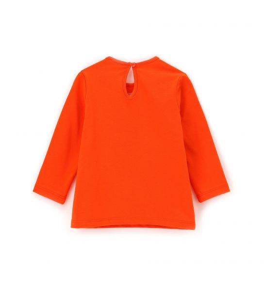 LONG SLEEVE STRETCH COTTON T-SHIRT AND PRINTS
