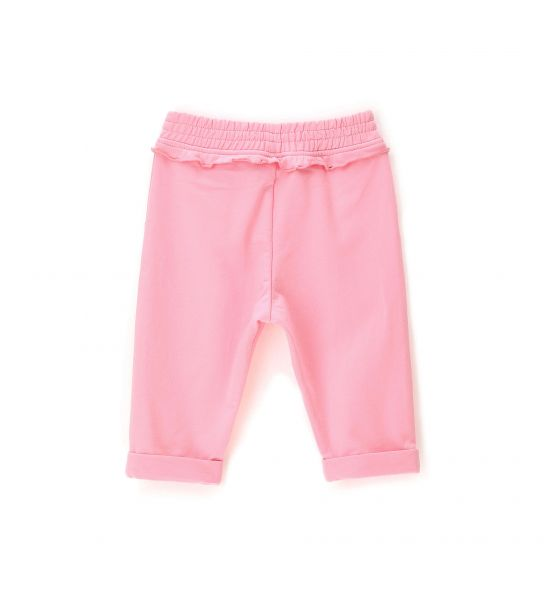 SWEATPANTS WITH LUREX BOW