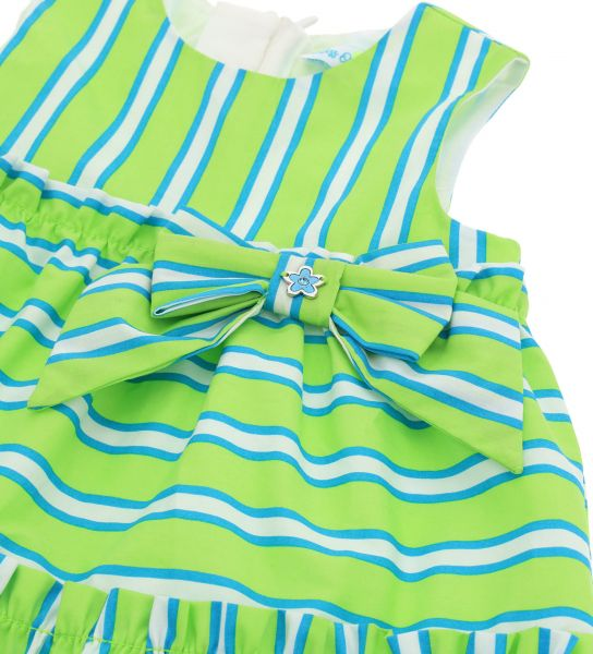 ALL OVER PRINTED DRESS WITHOUT SLEEVE