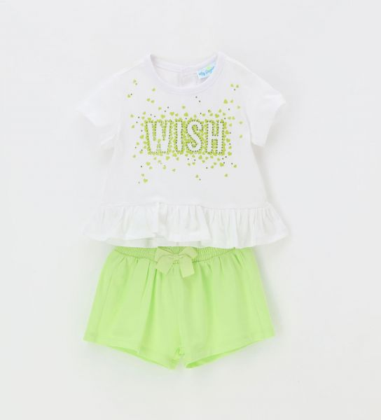 2-PIECE SET SHORT SLEEVE AND SHORT