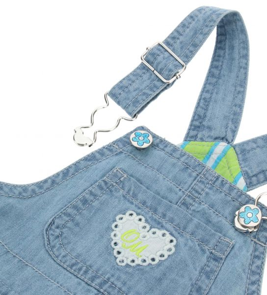 SALOPETTE DENIM CON GONNA