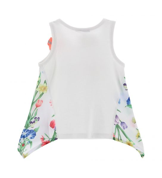 TOP TANK SIDES IN VISCOSE AND PRINT