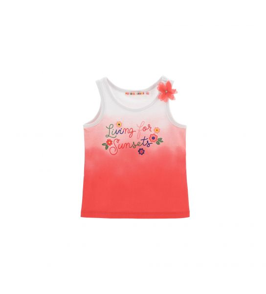 TANK TOP WITH DEGRADE PRINT