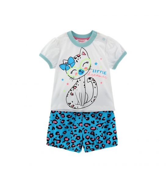 COTTON PAJAMAS SHORT SLEEVE