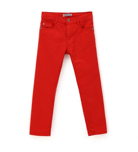 5 POCKETS STRETCH COTTON TROUSERS