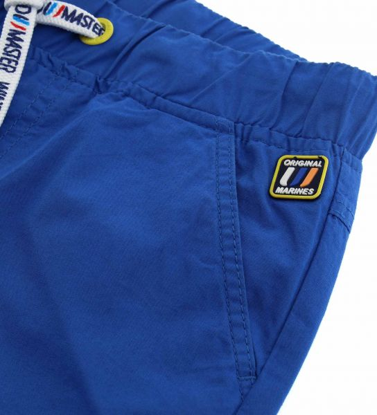 COTTON JOGGER WITH SIDE CARGO POCKETS