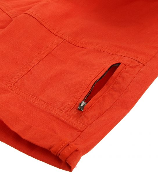 COTTON BERMUDA WITH FRONT PATCH POCKETS