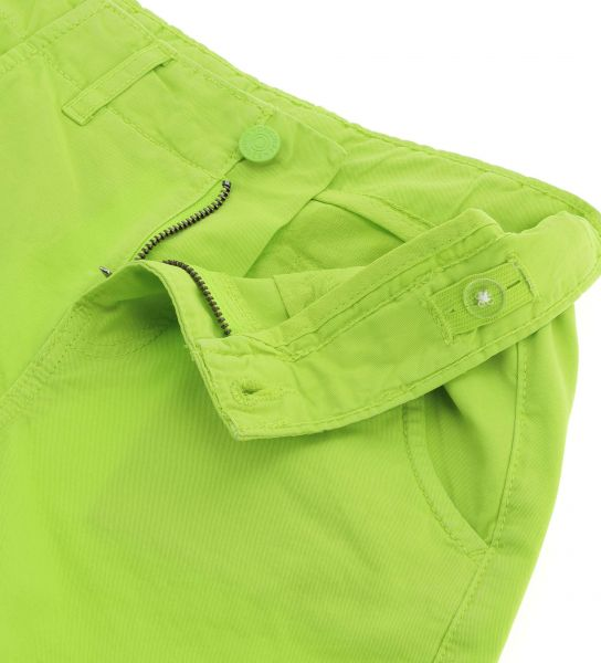 COTTON BERMUDA WITH SIDE POCKETS