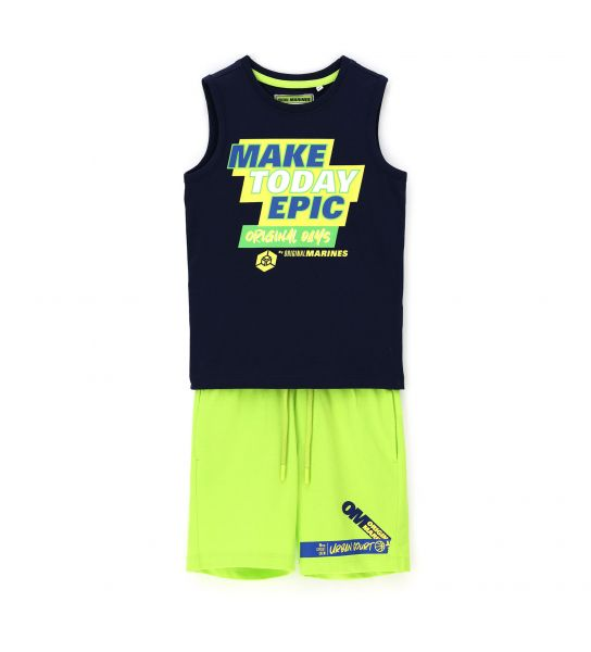 2-PIECE COMPLETE TANK TOP AND SHORT
