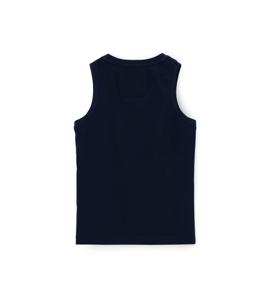 TANK TOP WITH FINISHES AND PRINT