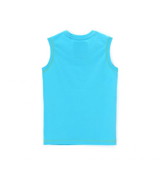 TANK TOP WITH CONTRASTING SEAMS