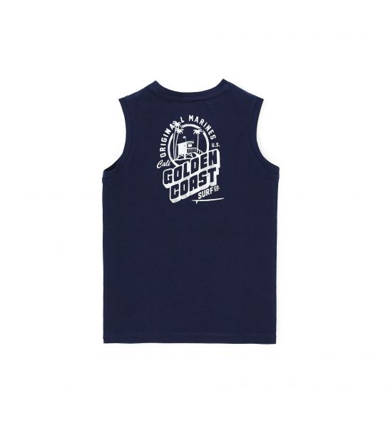 TANK TOP WITH FRONT AND BACK PRINT