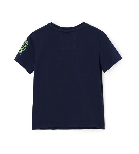 T-SHIRT PRINT FRONT AND ON THE SLEEVE