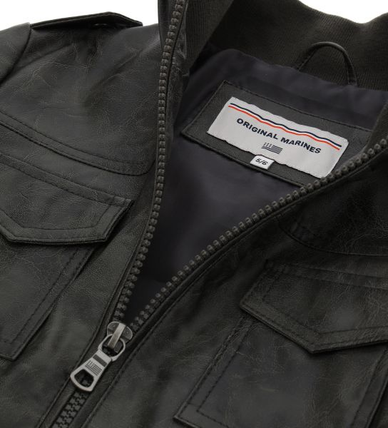 JACKET WITH PATCH POCKETS