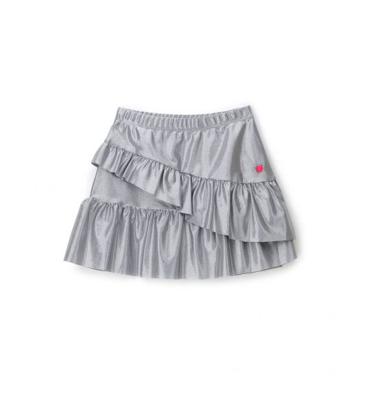 ELASTIC SKIRT WITH FLOUNCES