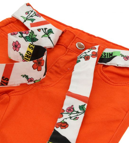 5-POCKET TROUSERS WITH BELT