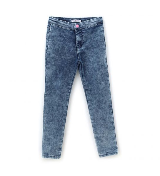 JEGGINGS IN JEANS CON GLITTER