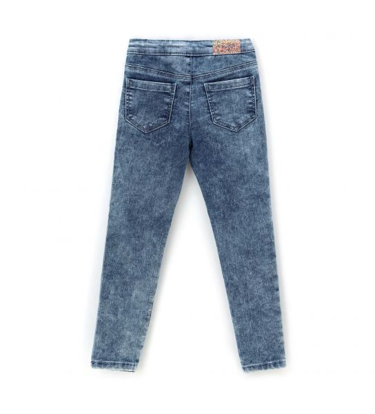 JEANS JEGGINGS WITH GLITTER