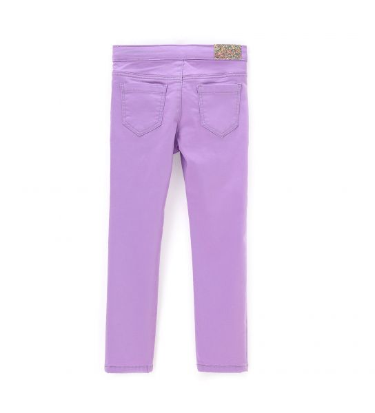COTTON JEGGINGS WITH GLITTER