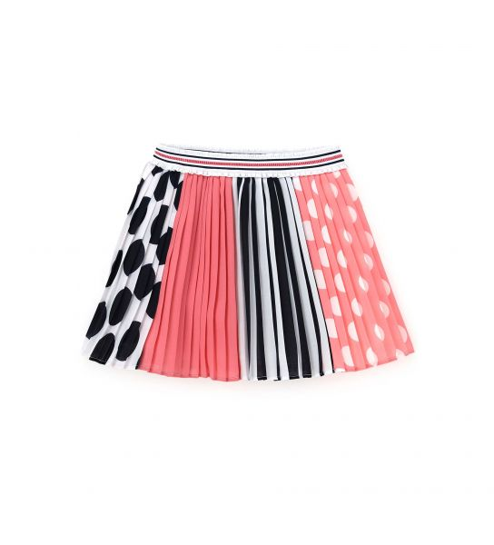 SKIRT IN CREPE PLISSÈ