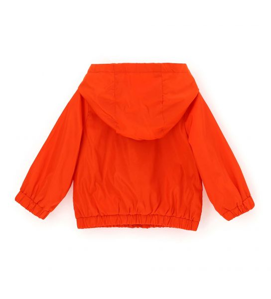 JACKET WITH ELASTIC CUFFS AND RUFFLES