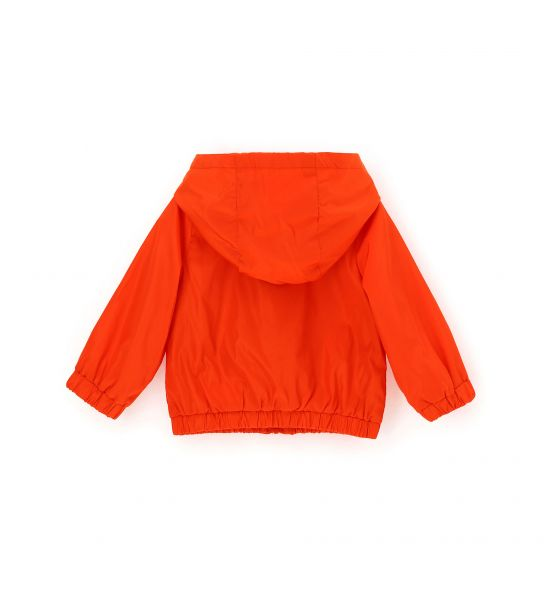 TECHNICAL FABRIC JACKET WITH POCKETS