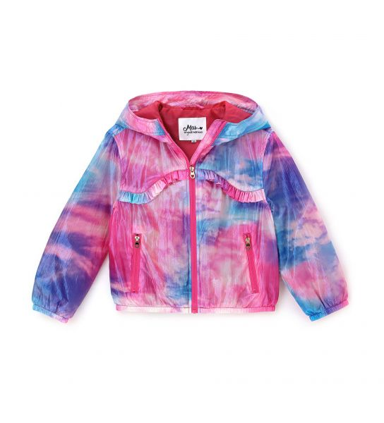 JACKET WITH IRIDESCENT EFFECT
