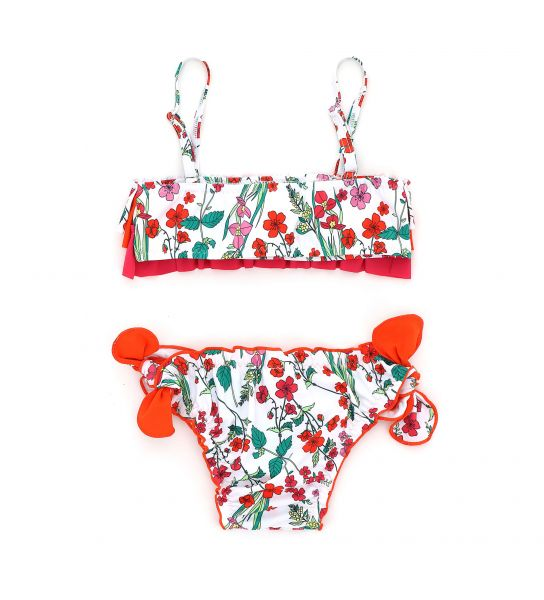 SEA BIKINI SET IN LYCRA AND BOWS