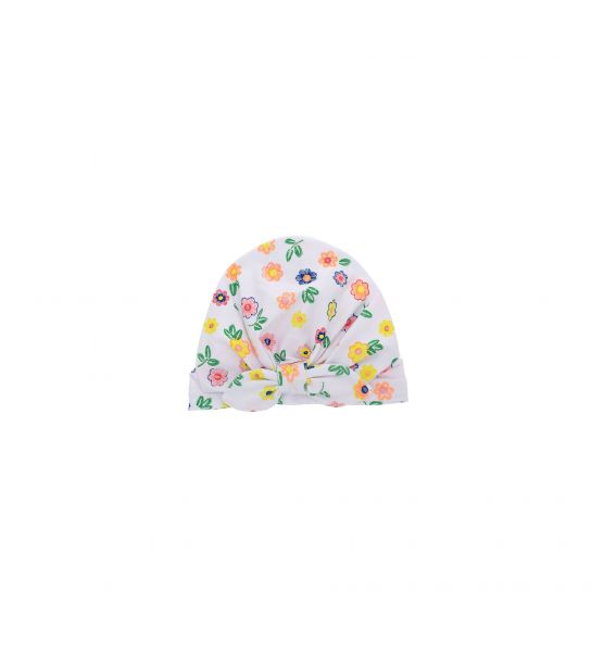 HAT MIXED COTTON AND ALL OVER PRINT