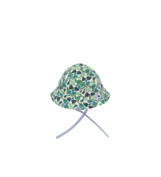 HAT WITH ALL OVER PRINT