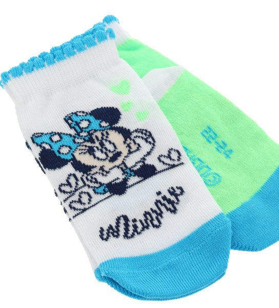 SHORT SOCKS MINNIE COTTON JACQUARD