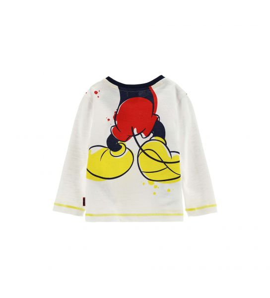 DISNEY MICKEY T-SHIRT WITH FORWARD AND BACK PRINT