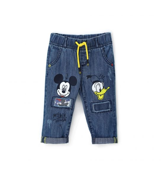 JEANS IN COTONE DENIM DISNEY