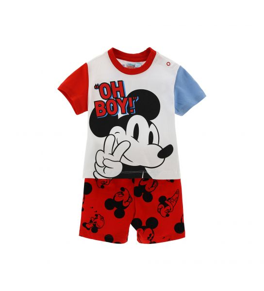 SHORT SLEEVE MICKEY PAJAMAS