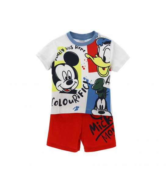 DISNEY SHORT SLEEVE PAJAMAS