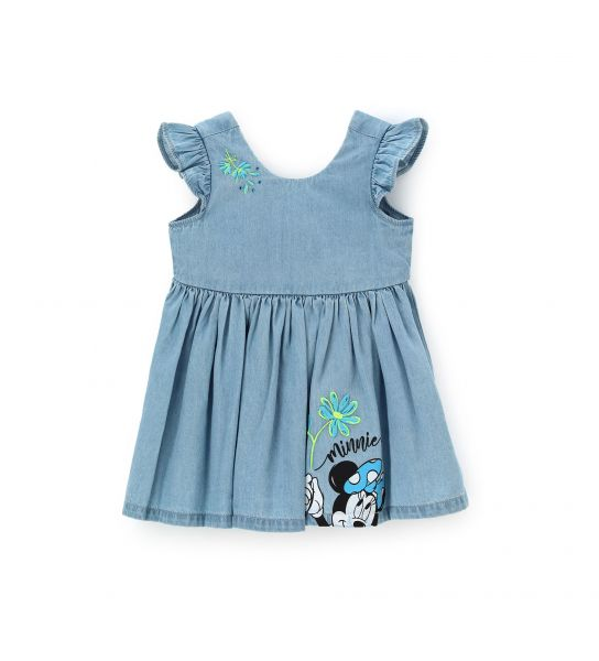 DISNEY MINNIE DRESS IN COTTON DENIM