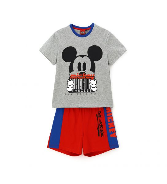 SHORT SLEEVE PAJAMAS WITH DISNEY MICKEY