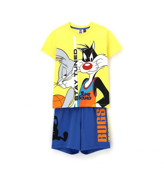 LOONEY TUNES SHORT SLEEVE PAJAMAS