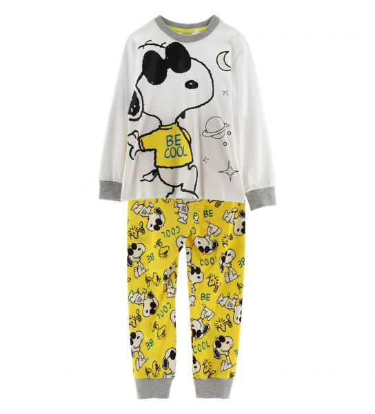 LONG SLEEVE SNOOPY PAJAMAS