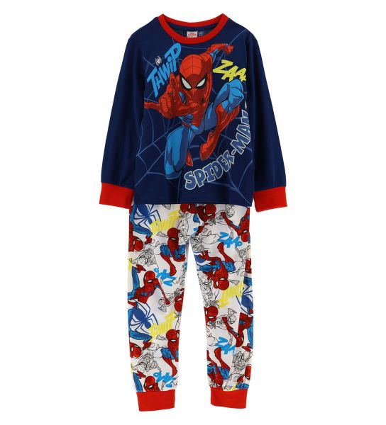 LONG SLEEVE SPIDERMAN PAJAMAS