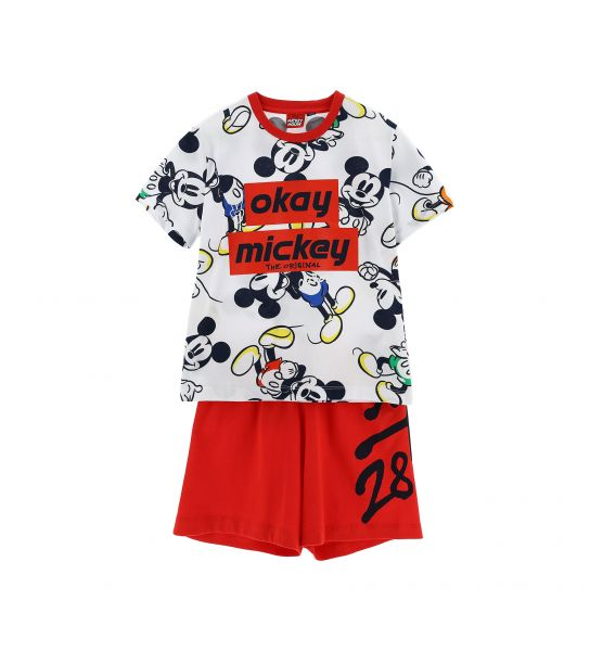 DISNEY MICKEY SHORT SLEEVE PAJAMAS