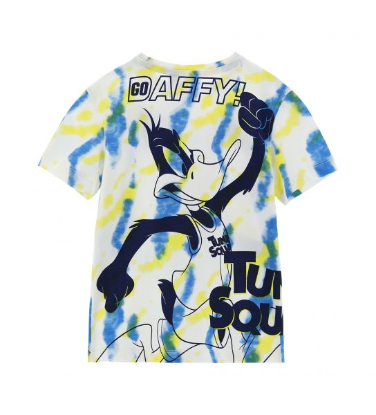 SHORT SLEEVE T-SHIRT WITH LOONEY TUNES PRINTS