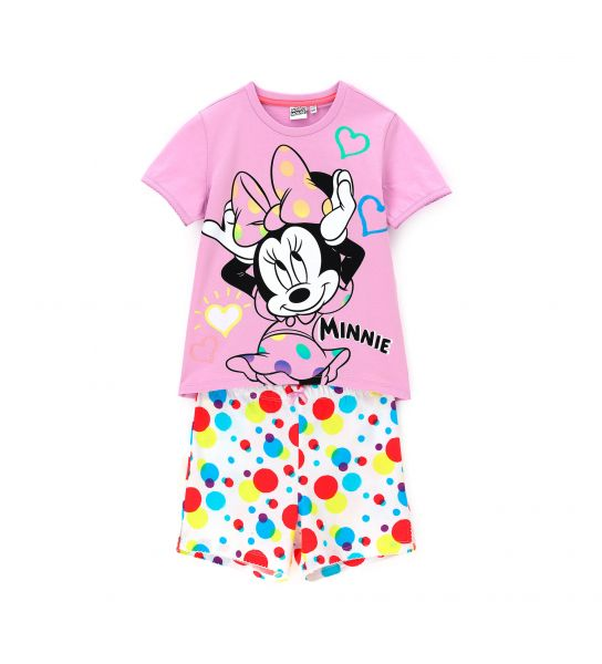 DISNEY MINNIE SHORT SLEEVE PAJAMAS
