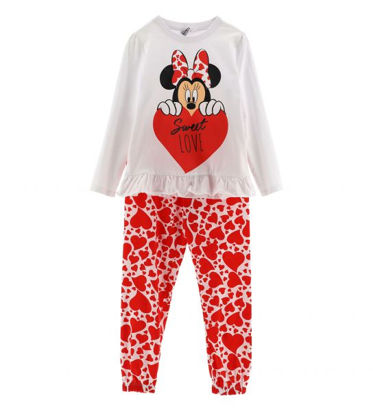 LONG SLEEVE PAJAMAS DISNEY MINNIE
