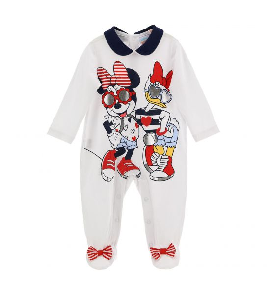 DISNEY MINNIE JUMPSUIT WITH BOW