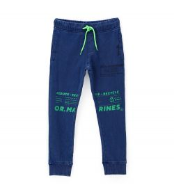 COTTON TROUSERS AND ADJUSTABLE LACES