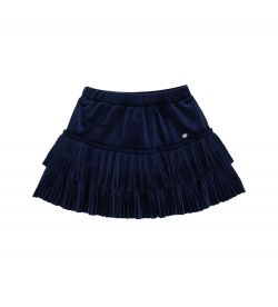 SKIRT WITH FLOUNCE DETAIL