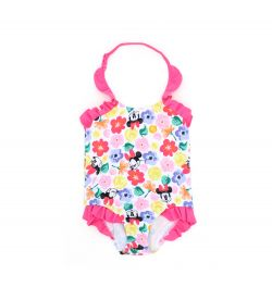 BABY GIRL'S ONE-PIECE MINNIE MOUSE SWIMSUIT