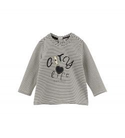 STRASS AND STRASS COTTON T-SHIRT